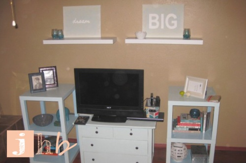 Media Stand Entertainment Center DIY