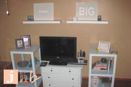 Media Stand Entertainment Center DIY