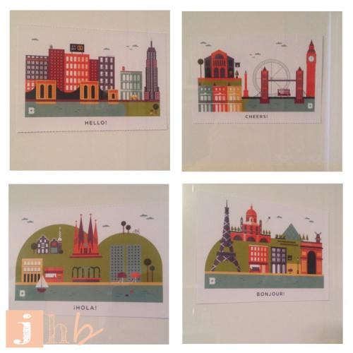 Birchbox Wanderlust Postcards