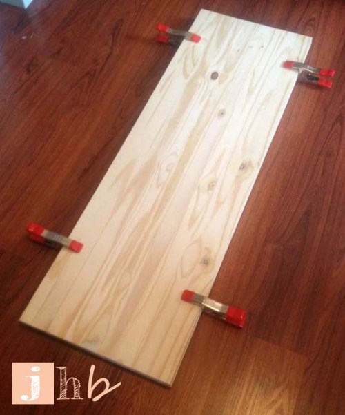 Clamps on Planks