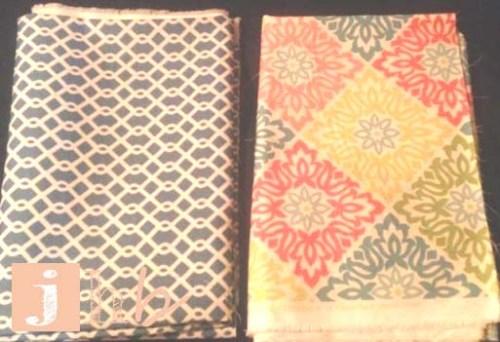 Retro Style Fabric