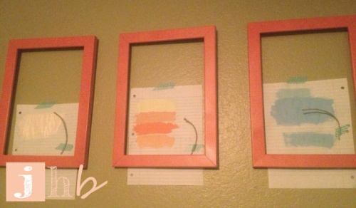 Wall Art Color Decision Making Process