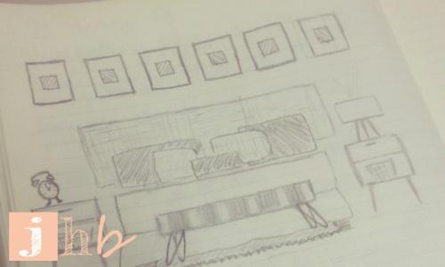 Doodle of Dream Bedroom