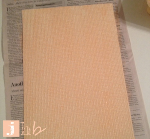 Paint Mixture on Wallpaper