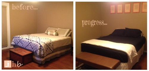 Bedroom Progress