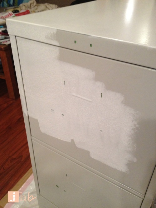 Priming a File Cabinet