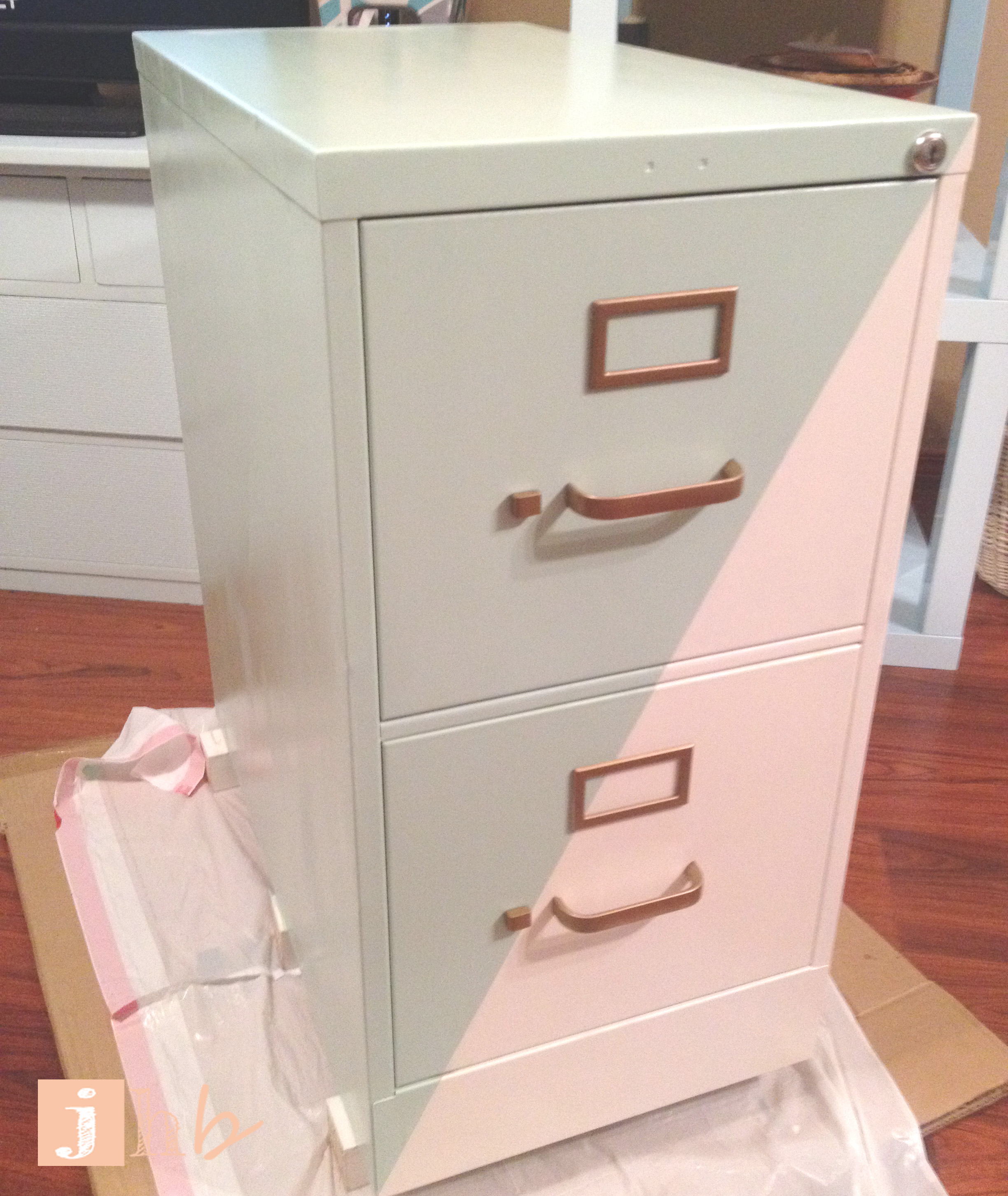 Fancy File Cabinet | jamie's home blog