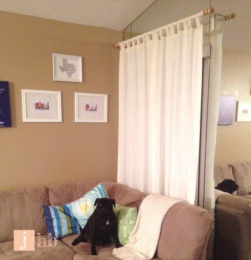 How To Hang Curtains Like Macgyver Jamie 39 S Home Blog