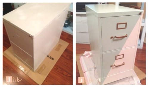 Before and After File Cabinet