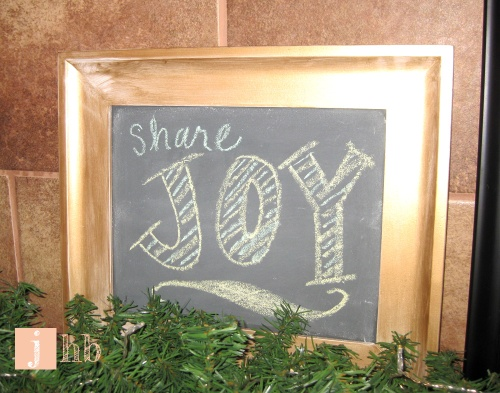 DIY Mini Chalkboard
