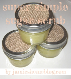 Super Simple Sugar Scrub Recipe