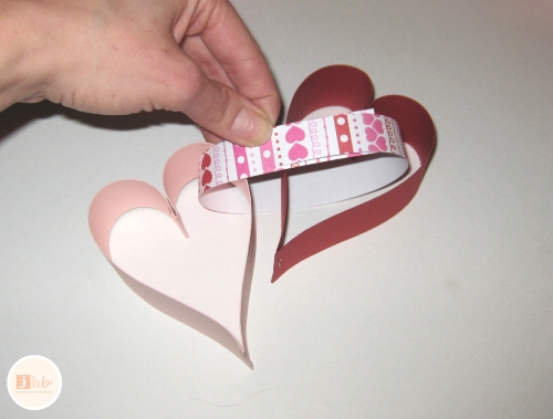 diy heart garland tutorial