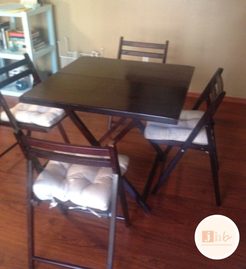 World Market Folding Table and Chairs