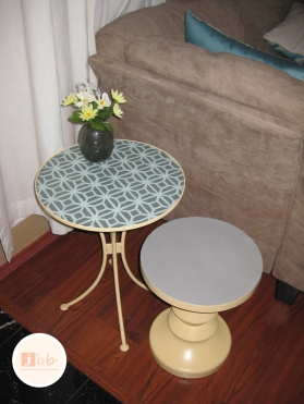 DIY Accent Table Makeover