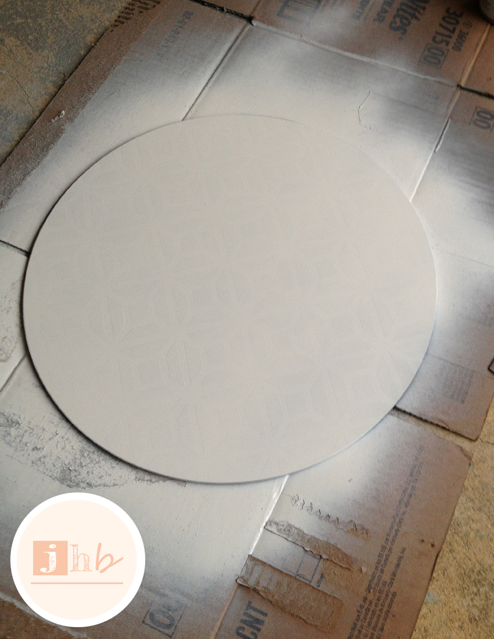 High Quality Diy Geometric Glass Top Table. Accent Table Makeover Jamie S Home Blog. Meg  Made Creations Spray Paint ...