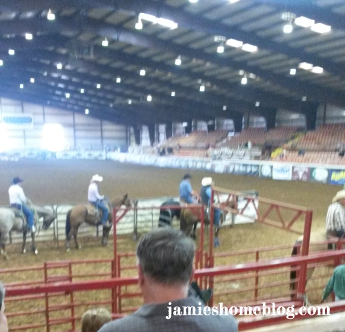 Cattle Roping Diamond W Arena