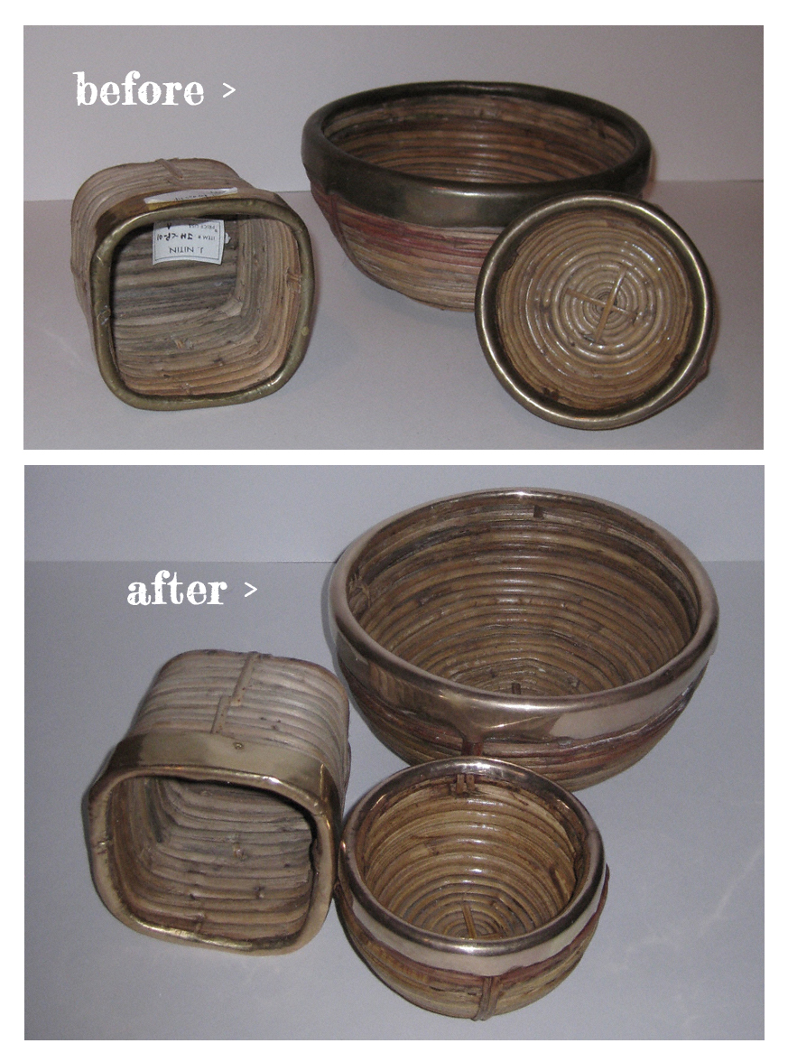 how to clean tarnished copper and brass