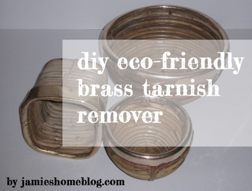 diy eco friendly brass tarnish remover