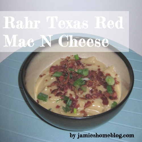 rahr texas red beer mac and cheese