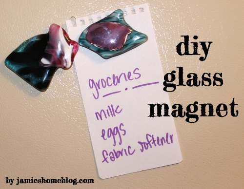 diy glass magnet
