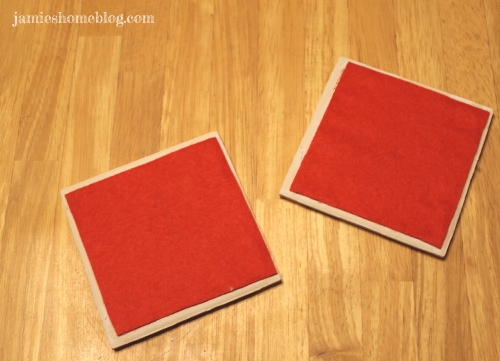 diy ceramic tile coasters