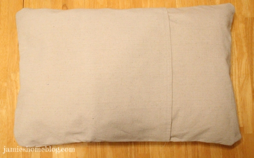 How To Sew A Pillow Cover Jamie S Home Blog