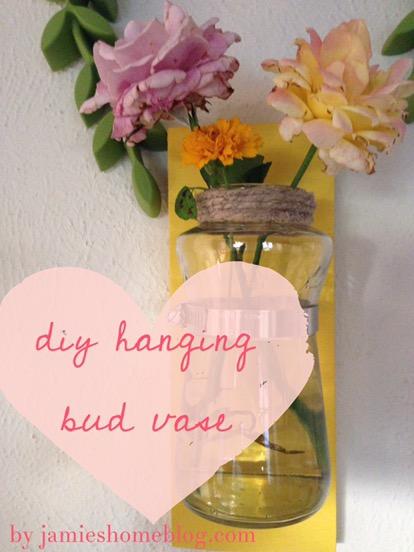 Diy Hanging Bud Vase Jamies Home Blog